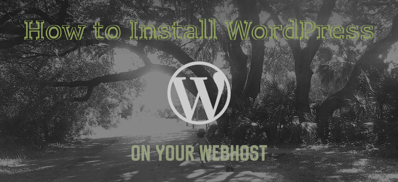 How to Install WordPress on your Web Host to start Blogging in under 20 minutes!